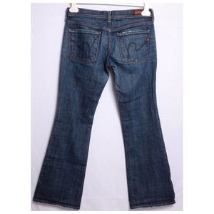 Citizens of Humanity Flare Ingrid Stretch Jeans